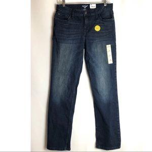 Boys' dark wash straight Fit Jeans Cat & Jack 16